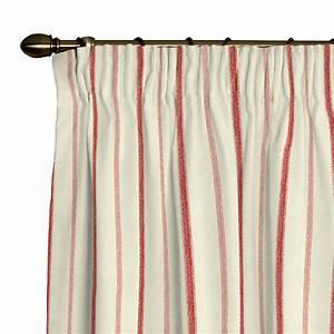 Rot Karierte Vorhänge : vorhang kraeuselband rot creme streifen gardine gardinenschal vorhangschal neu ~ Markanthonyermac.com Haus und Dekorationen