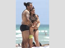 Marcelo Vieira y Clarissa Alves disfrutan de las playas de