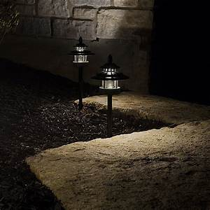 Led landscape path lights dual tier watt aluminum