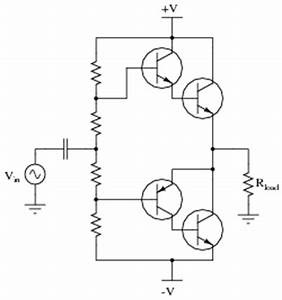 class b bjt amplifiers discrete semiconductor devices With push pull amplifier