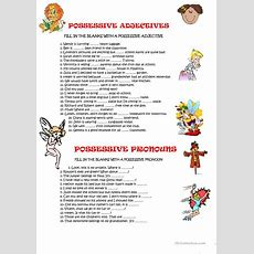 Possessive Adjectives And Pronouns Worksheet  Free Esl Printable Worksheets Made By Teachers