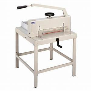 Guillotine Manual Paper Cutter 3971 Heavy Duty 18 7 U0026quot  Wide