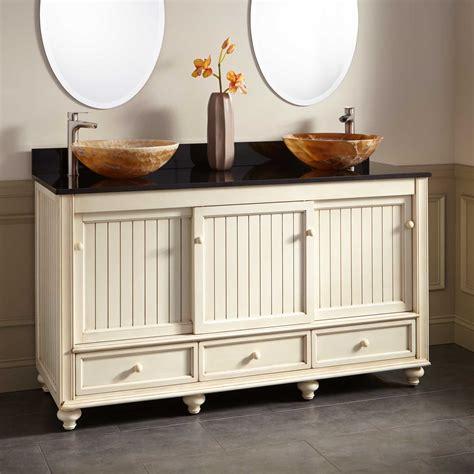 48 double vessel sink vanity 48 quot wynne double vessel sink vanity white bathroom