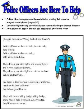 police officer lesson plans for preschool 7 best officer images on officer 865