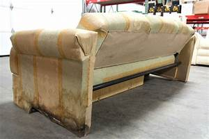 rv furniture used rv motorhome camper recoverable flip out With used rv sofa bed