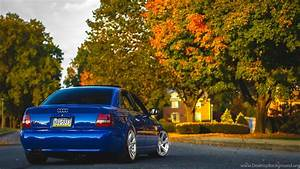 Download Wallpapers Audi, A4, B5, Blue, Audi, A4, Blue