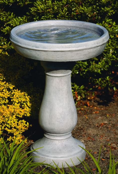 deep dish lane bird bath garden decor