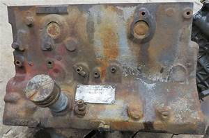 R  F  Engine Continental Cn 162    163 Engine Block Used
