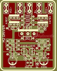 Pcb Layout Driver Pa M2 Amplifire