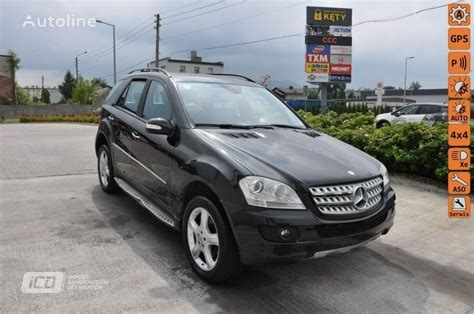 Use our free online car valuation tool to find out exactly how much your car is worth today. Buy damaged MERCEDES-BENZ ML 320 W164 (2005-) SUV Poland KĘTY, QF23073