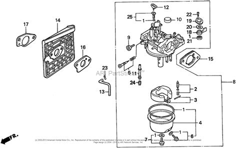 Honda Gx390 Carburetor Parts Diagram Wiring Diagrams