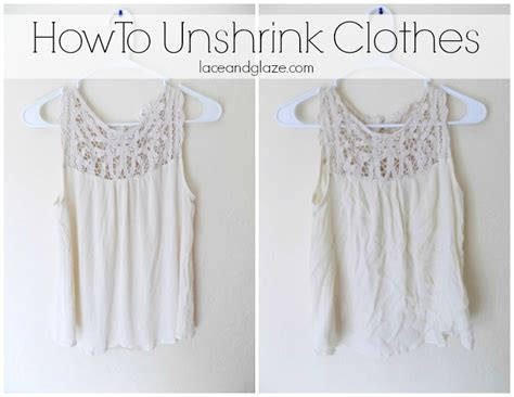 how to unshrink a sweater how to unshrink clothes