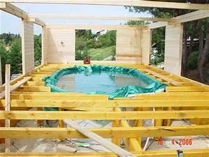 merveilleux fondation pour terrasse en bois 7 piscine With fondation pour terrasse en bois