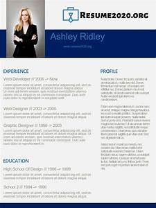 2020 Best Resume Templates Chronological Best 2020 Resume Template Resume 2020