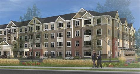 center lines up tif for senior housing project finance commerce