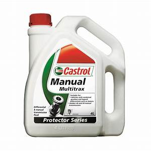 Castrol Multitrax Transaxle  U0026 Manual Transmission Fluid
