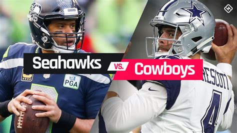 seahawks  cowboys time tv channel    nfl