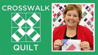 Quilt Tutorials Missouri Star Crosswalk Quilting Jenny