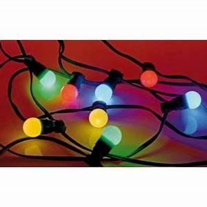 Guirlande Lumineuse Exterieur Solaire : guirlande ext rieur multicolore ~ Teatrodelosmanantiales.com Idées de Décoration