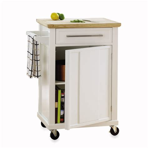 wood topped kitchen carts  casters  budget