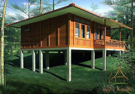 desain rumah kayu minimalis sederhana  klasik