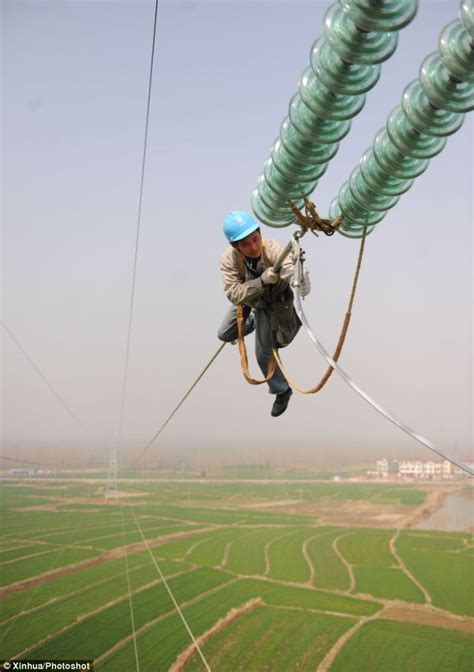 electrifying job scary images show  men