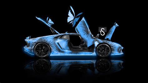 The content on this page is no longer available. Lamborghini Aventador Side Open Doors Kiwi Aerography Butterfly Fruit Art Car 2017 | INO VISION