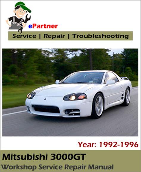 free car repair manuals 1998 mitsubishi gto spare parts catalogs mitsubishi 3000gt service repair manual 1992 1996 automotive service repair manual