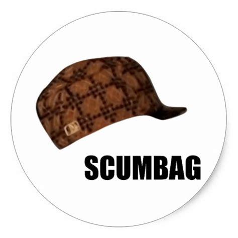 Meme Hats - scumbag steve hat meme classic round sticker zazzle