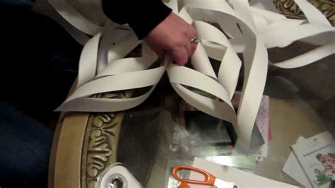large  paper snowflake step  step youtube