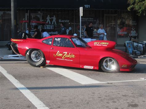 Opel Gt Drag Car by East Coast Drag Racing Of Fame