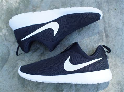 nike free run slip on black white nike roshe run slip on black white sneakernews