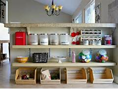 Smart Storage Ideas Small Kitchens We Love This Idea For The Pantry But It Works Just As Well For The
