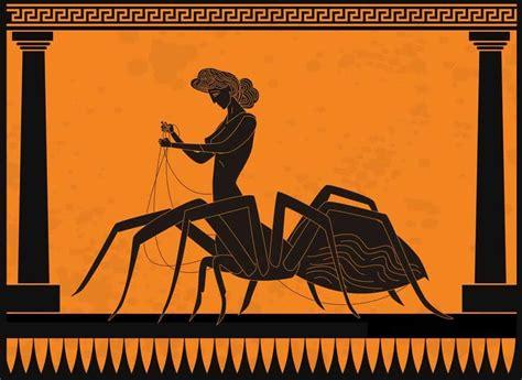 Arachne and Athena Myth - Athens and Beyond