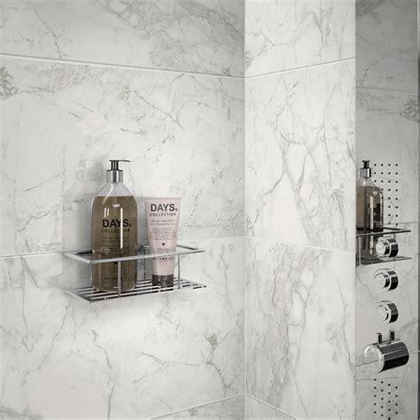 large format luni blanco polished porcelain rectified wall