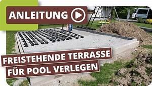 Wpc Platten Günstig : freistehende terrasse mit wpc terrassendielen f r pool ~ A.2002-acura-tl-radio.info Haus und Dekorationen