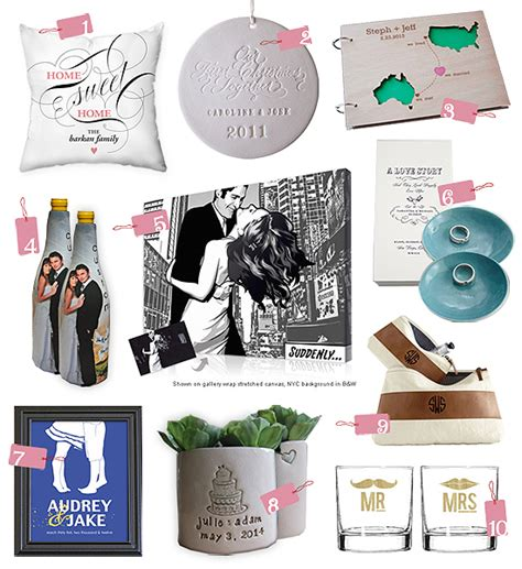 custom wedding gifts top 10 picks unique personalized wedding gifts
