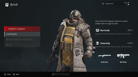 rogue company characters list tier vy ggrecon shotgun shooters pourri pot pas multi