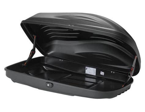 box baule portatutto per auto box auto portatutto da tetto g3 reef 270 nero opaco