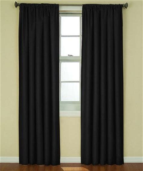 ellery homestyles blackout curtains black kendall eclipse blackout curtain panel