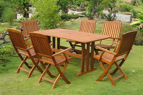 how to care for your outdoor wood furniture corner