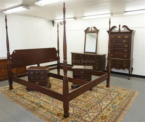 high bedroom set 6 bedroom set includinga king size high poster bed wit