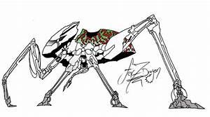 Alien Ground Robot Layout by FerAdami on DeviantArt