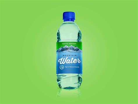 The biggest source of free photorealistic bottle mockups online! Free Water Bottle Mockup (PSD)