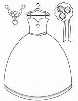 Coloring Bride Pages Getcolorings Printable Wedding sketch template