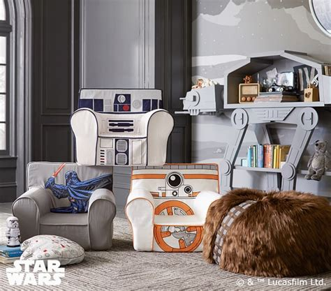 wars beanbag slipcover pottery wars r2 d2 anywhere chair pottery barn