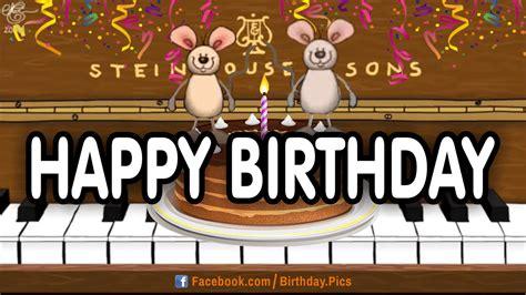 Happy Birthday Animated Images Happy Birthday Animated Musical Images Birthday Cookies Cake