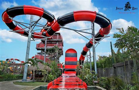wow serunya bermain  jogja bay waterpark terbesar se