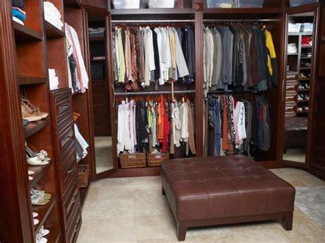 Large Walk In Closet Organization Ideas by Walk In Closet Design Ideas Hgtv