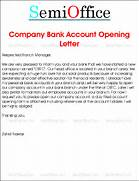 Company Bank Account Opening Request Letter Board Resolution For Opening Bank Account IndiaFilings Request Letter To Reopen Bank Account 7 Bank Reference Letter Templates Free Sample Example